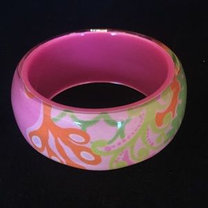 Lilly Pulitzer Lucite Bangle Bracelet